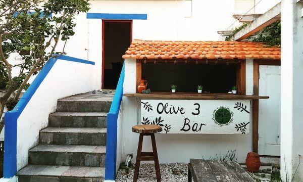 Olive3 Garten mit kleiner Bar